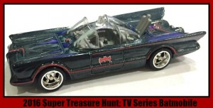 Batmobile Super Treasure Hunt