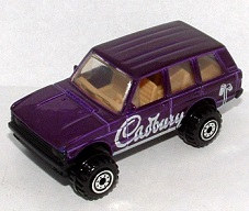 Hot Wheels Cadbury Rover